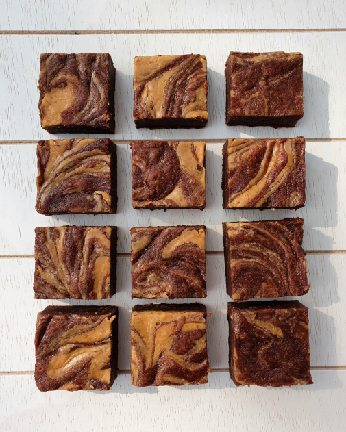 The Peanut Butter Brownie